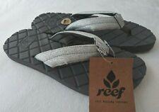 74497c5820bb NWT REEF Star Dreams II 2 Silver Gray Sandals Flip Flops Glitter Sz 6 7 8