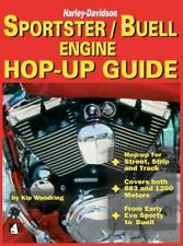 Harley-Davidson Sportster/Buell Engine Hop-Up Book~Evo~NEW Motorcycle Hardcover!