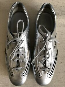 Hogan Sparkle Detail Silver Sneaker/ Exc Conds/ Size 37/ Made In Italy/ $575
