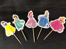 Disney Princess 24 Piece Cupcake Topper Centerpiece