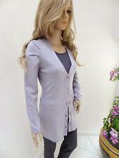 MARCCAIN Damen Jacke Strickjacke N4 N5 40 42 L XL Wolle Seide Kaschmir