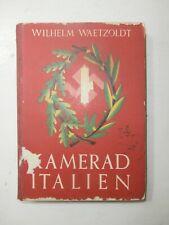 Raro libro Fascismo Kamerad Italien 1942