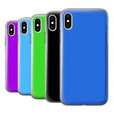 Étuis, housses et coques blanc iPhone X en silicone, caoutchouc, gel pour téléphone mobile et assistant personnel (PDA)