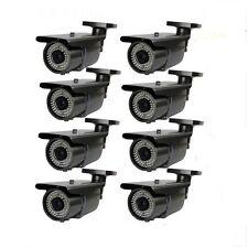 Hd 1300Tvl 72Ir Ir Cut 2.8~12mm Varifocal V090* 8 Bullet Outdoor Security Camera