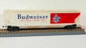 HO Scale, Annheuser-Busch Budweiser Beer PS-2 Covered Grain Hopper, All Original