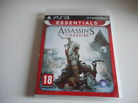 JEU PS3 - ASSASSIN'S CREED III - ESSENTIALS - COMPLET