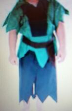 PRETEND TO  BEE  CHILDRENS ROBIN HOOD COSTUME WITH FEATHERED  CAP  3-5 YEARS