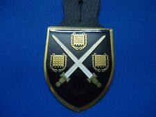 PORTUGAL PORTUGUESE MILITARY NATO REACTION FORCE 9 CPM BREAST BADGE 49mm