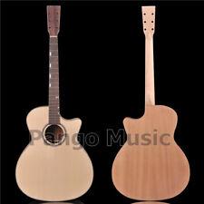 PANGO Music 41 inch Solid Spruce top Acoustic guitar Kit / DIY Guitar (AFA-953)