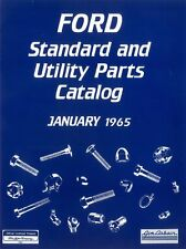 1965 Ford Truck Standard & Utility Parts Number List Guide Interchange Reference