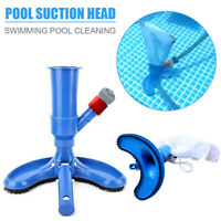 Pool Pond SPA Cleaner Brush Swimming Pool Jet Vacuum Suction Head Cleaning Tools