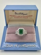 AWE-INSPIRING 2.24CT NATURAL COLUMBIAN EMERALD WOMEN ENGAGEMENT RING 925 SILVER