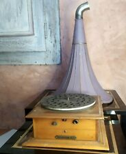 phonographe PATHEPHONE N°2 incomplet , pavillon violet  ... *