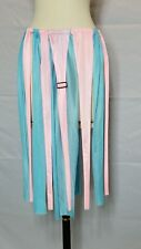 """BELLY DANCERS 24"""" Panel SKIRT Pink & Baby Blue """"IT'S ALL in the TEASE"""""""