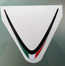 Rsv4 Factory Bandera Italiana Sticker Calcomanía Para Aprilia Rsv4 frente Carenado