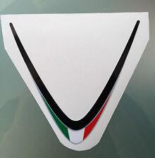 Rsv4 Factory Bandera Italiana Sticker Calcomanía Para Aprilia Rsv4 frente Carenado