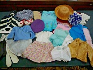 AMERICAN GIRL Doll + PLEASANT Company Lot Of Clothes & Accessories (30+ items)