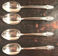 GORHAM - SOVEREIGN - Set of 4 STERLING SILVER TEASPOONS - NO MONO, 3 Sets AVAIL