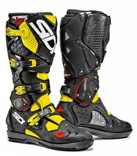 Stivali Sidi Crossfire 2 SRS Nero Giallo Fluo Mx Boots Stiefel Botas 45 11