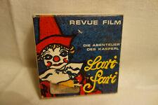 8mm  Film  1960er Jahre Revue Film Kasper Lari Fari  normal 8 /15 M