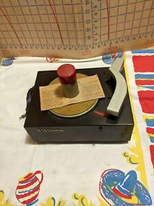 RCA Victor Record Player Victrola 45-J - Vintage - Powers On - works fine