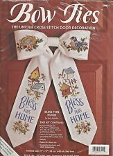 """""""BLESS THIS HOME""""- CUTE DOOR DECORATION - Counted Cross Stitch Kit"""