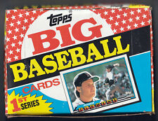 Topps BIG Baseball Cards 1st Series NEW BOX 36 Collectors Packs Roger Clemens