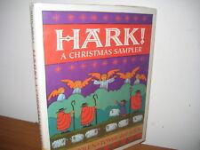 Hark! A Christmas Sampler/ Tomie de Paola/ hardback/ Yolen/ jacket/ 1991
