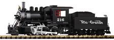 Piko G Scale Trains 38220 D&RGW Mogul 216 Steam Locomotive Engine