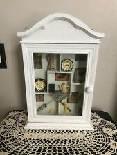 Shadow Box Vintage White With Shabby Miniatures Home Decor