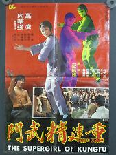 "Vintage Thunder Kick Kung Fu"" Chinese Movie Poster 22"" x 30"""