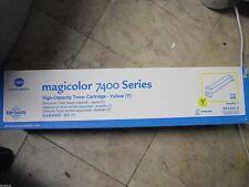 New! Genuine KONICA MINOLTA MagiColor 7400 7450 Laser Printer 8938-630 Yellow HY
