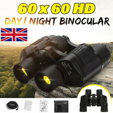 60x60 Day Night Military Army Zoom Powerful Binoculars Optics Telescope Hunting