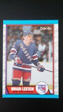 1989-90 O Pee Chee Brian Leetch Rookie