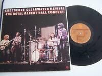 LP 33 TOURS , CREEDENCE CLEARWATER REVIVAL , THE ROYAL ALBERT HAL . VG - / VG ++