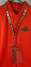 Indianapolis 500 Motor Speedway Lanyard & Credential Ticket Holder IMS