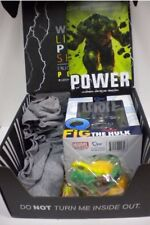 SEALED Loot Crate Power Complete Box May 2016 World of Warcraft L shirt