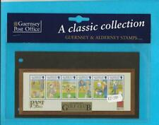 Mnh Alderney Guernsey Classic Collection Stamp Sets - Wb15