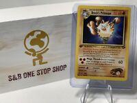 Brock's Primeape 35/132 Uncommon 1st Edition Gym Challenge Pokemon TCG 2000 WOTC