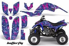 AMR Racing Yamaha Raptor660 Graphic Kit Wrap Quad Decals ATV 2001-2005 BFLY PINK
