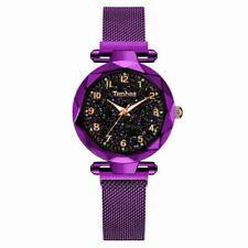 Women Watch Magnetic Starry Sky Wristwatch Luxury Rose Gold Female Quartz