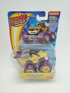 New Blaze And The Monster Machines Monster Engine Stripes Die-Cast Toy