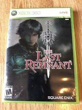 The Last Remnant (Microsoft Xbox 360, 2008) Cib Game Works ES