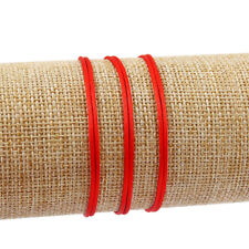 50Pcs Red String Kabbalah Lucky Stain Silk Bracelet Good Luck Fortune Protection