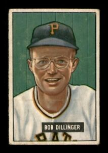 1951 Bowman Set Break # 63 Bob Dillinger GD *OBGcards*
