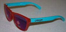 Oakley Frogskins XS Youth Fit OJ9006-0953 Matte Grey Ink/Prizm Sapphire NEW