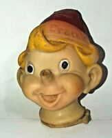 Very Old Antique Vintage Kellogg's Crackle Doll VInyl Head - Advertising Collect
