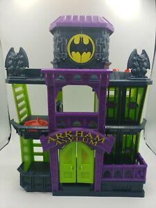 2012 Mattel Imaginext Batman Arkham Asylum - All Doors and Levers Function