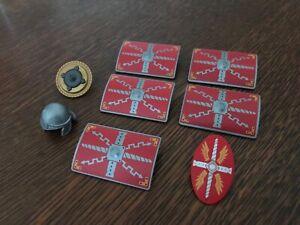 Lot playmobil accessoires soldats romains