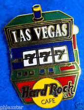 Prototipo las Vegas Suerte 777 Casino Slot Machine Azul Barra Hard Rock Café Pin